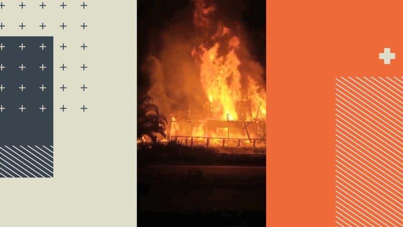 Quidico bajo fuego: 56 viviendas han sido quemadas desde 2019