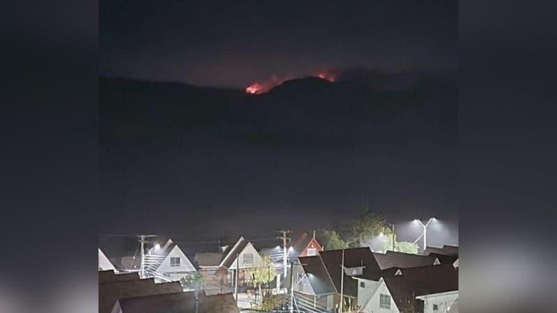 Onemi decreta alerta roja para comunas de Valparaíso, Viña del Mar y Quilpué por incendio forestal