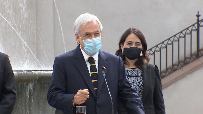"""Tercer retiro del 10%: Piñera confirma que el gobierno recurrirá al TC """"de ser necesario"""""""
