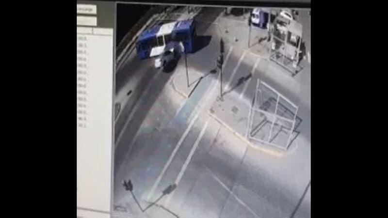 [VIDEO] Así fue el choque en el que dos personas que huían de Carabineros murieron en La Pintana
