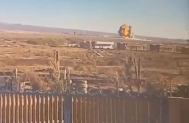 Así fue el momento exacto de la explosión en planta Enaex de Calama
