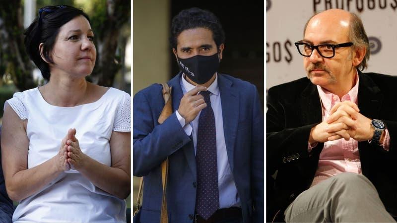 [VIDEO] Luis Gnecco y Javiera Parada manifiestan apoyo a la candidatura de Ignacio Briones