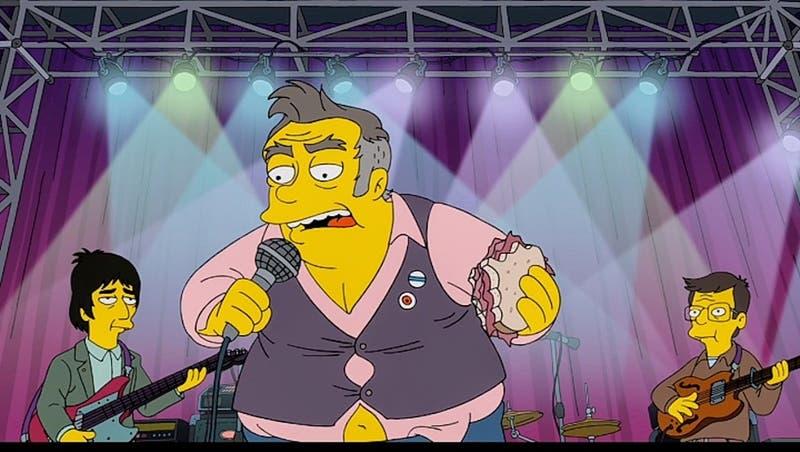 Morrissey critica a Los Simpson tras polémico capítulo parodia