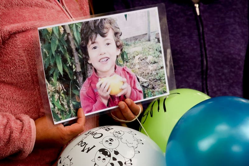 """Informe de autopsia de Tomás: """"No se observó signos de intervención de terceras personas"""""""