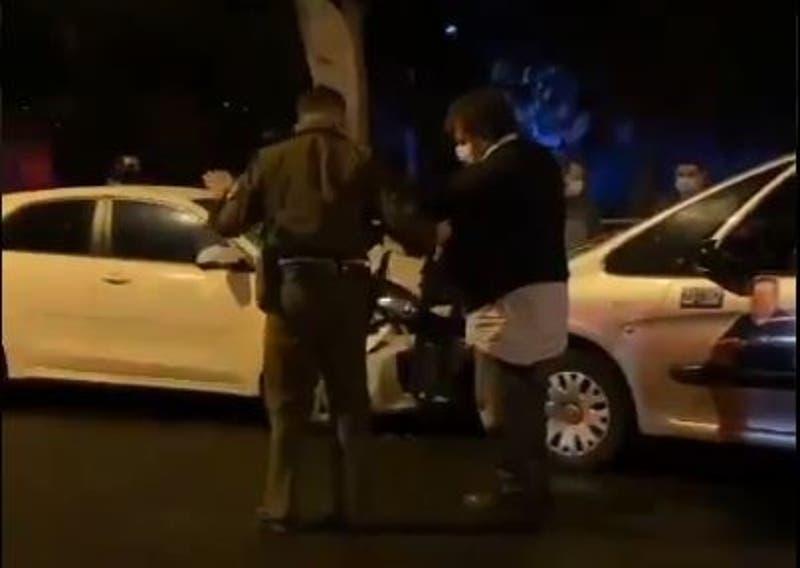 Arresto domiciliario nocturno para candidato a concejal UDI que chocó en estado de ebriedad