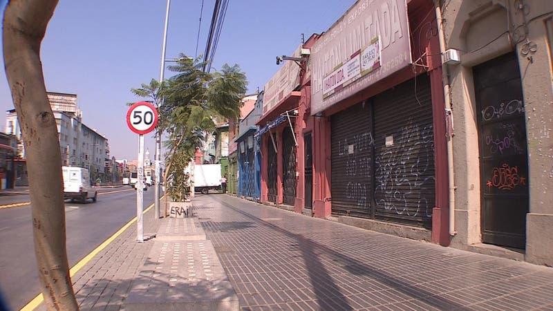 """El """"Barrio Las Telas"""" en su momento más difícil"""