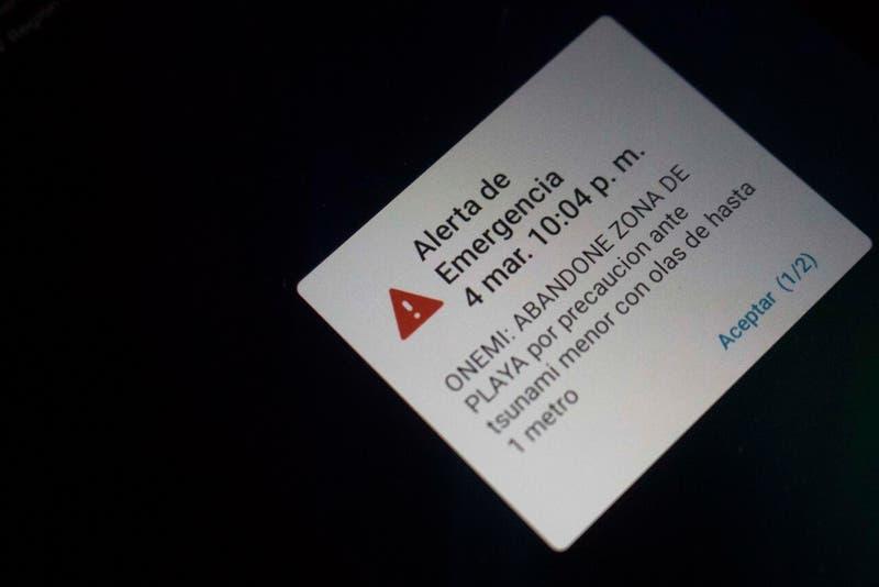 Onemi realizará pruebas del Sistema de Alerta de Emergencias (SAE) este jueves en La Serena