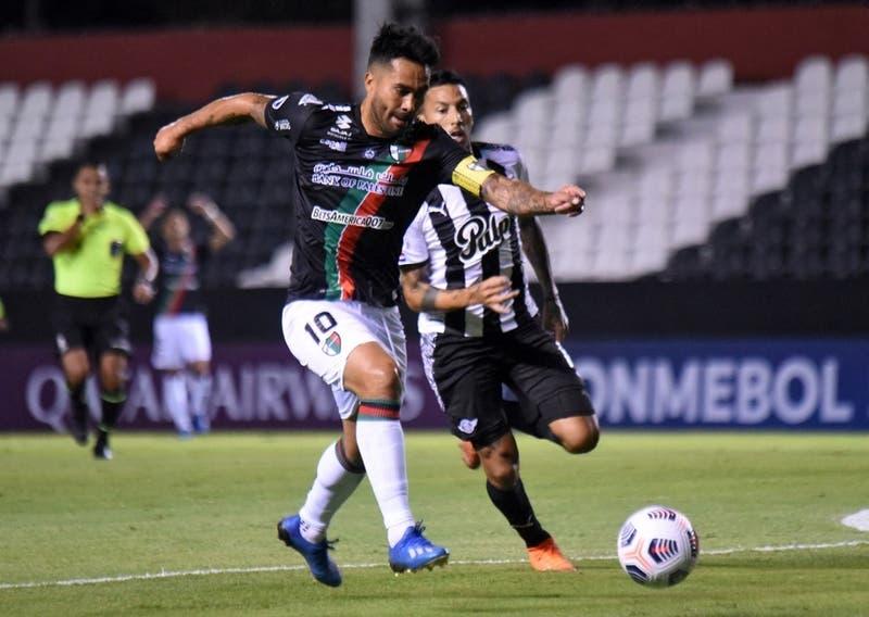 Palestino pierde en su visita a Libertad en su estreno en la Copa Sudamericana