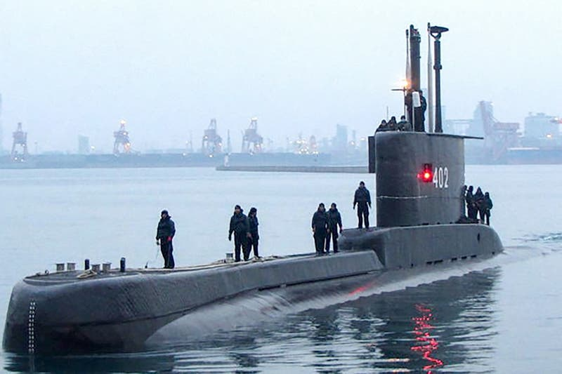 """Detectado un """"objeto"""" durante búsqueda del submarino desaparecido en Indonesia"""