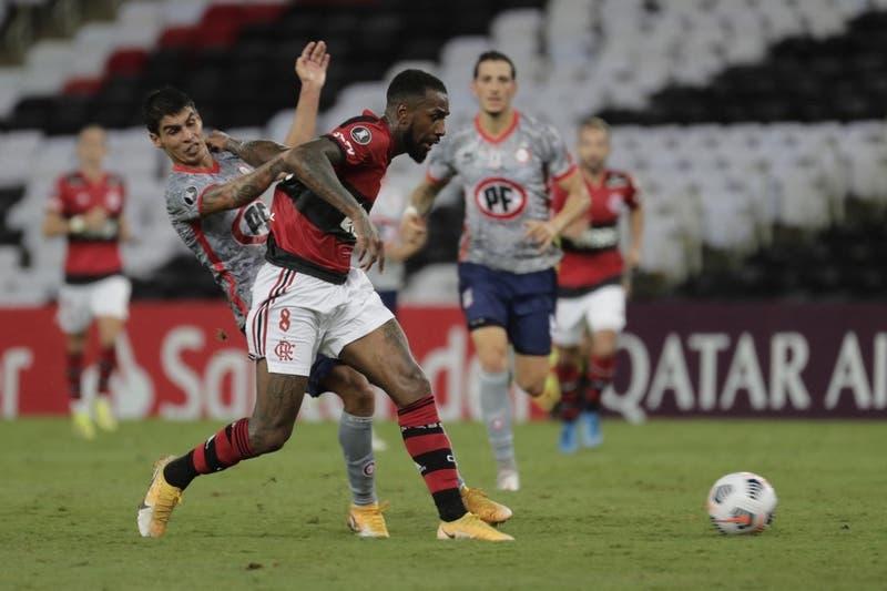 Unión La Calera cae ante Flamengo en Maracaná por Copa Libertadores