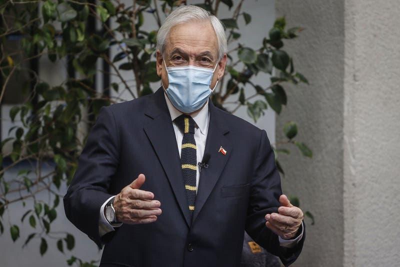 """Piñera: """"Han sido tiempos difíciles para la mayoría de las familias y también para este Presidente"""""""