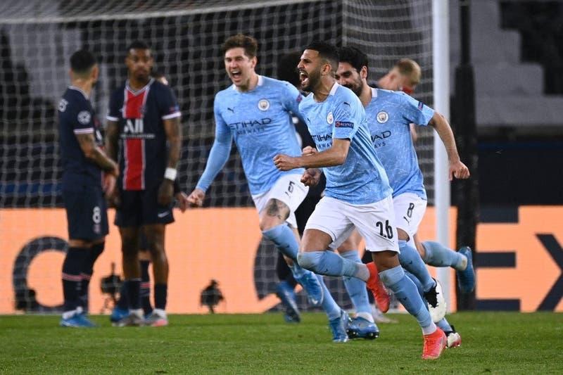 Manchester City vence al PSG en Francia y se ilusiona con su primera final de la Champions League