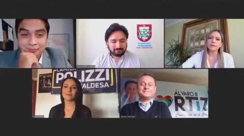 [VIDEO] Elecciones 2021: el debate por la alcaldía de Concepción