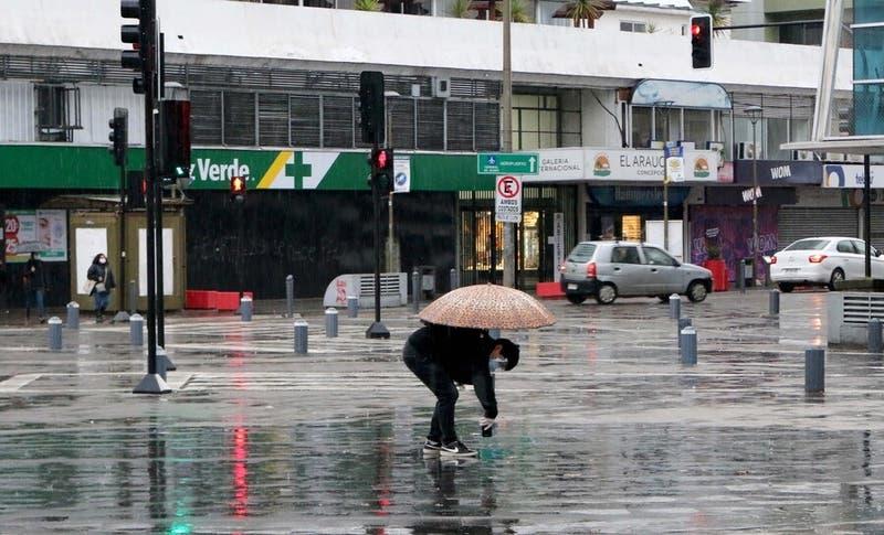 Pronostican lluvias para este fin de semana en toda la zona centro sur del país