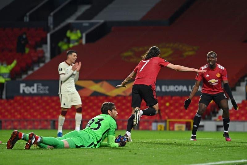 Manchester United golea 6 a 2 a la Roma y queda a un paso de la final de la Europa League