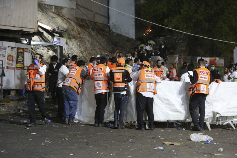 Peregrinación judía en Israel deja al menos 44 muertos