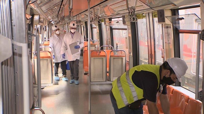 [VIDEO] Metro utiliza biotecnología para sanitizar vagones