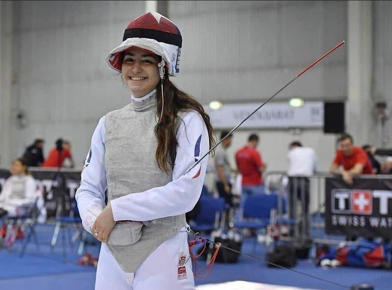 Con solo 18 años: Katina Proestakis clasifica a los JJ.OO tras ganar en esgrima