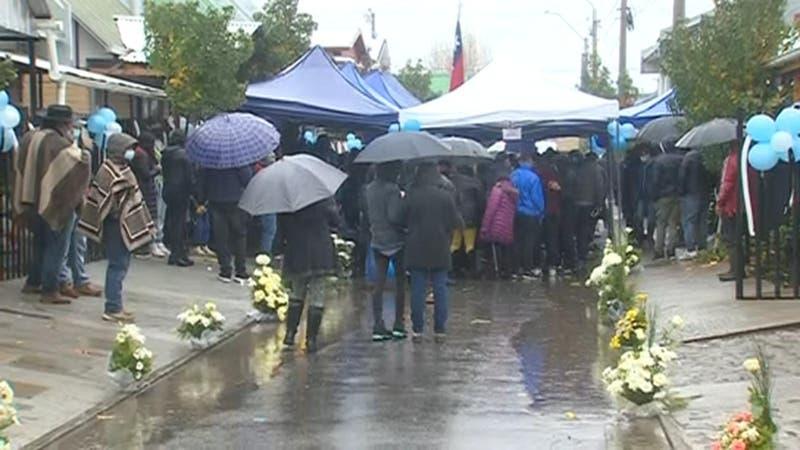 [VIDEO] Familiares reciben cuerpo del pequeño Emilio, niño de 12 años que murió en Longaví