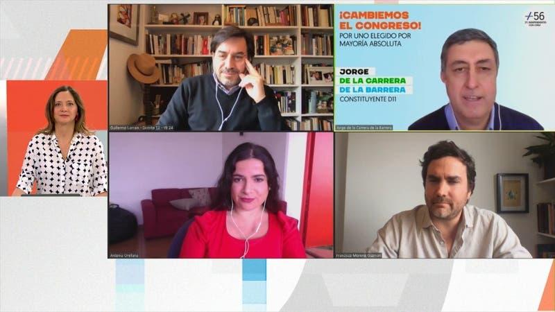 [VIDEO] Orellana, Moreno, Larraín y de la Carrera detallan por qué quieren ser constituyentes