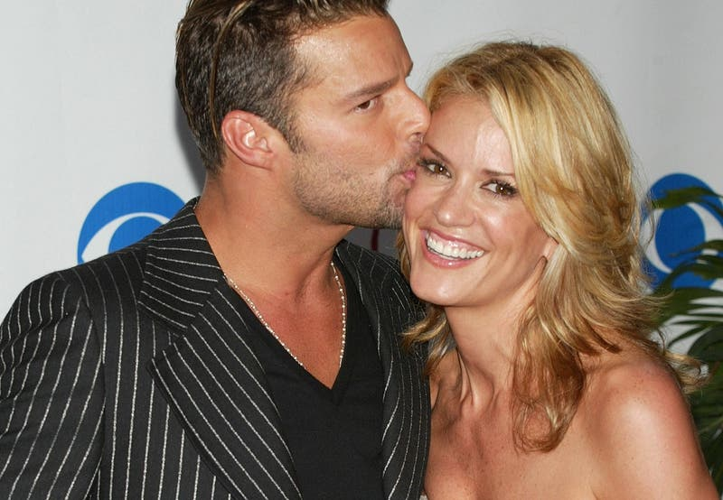 """""""Lo perdimos"""": Rebecca de Alba, ex pareja de Ricky Martin, reveló que perdió un bebé del cantante"""