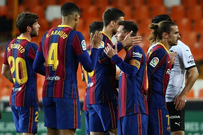 Posible infracción a protocolos: investigarán a jugadores del Barcelona por comida en casa de Messi