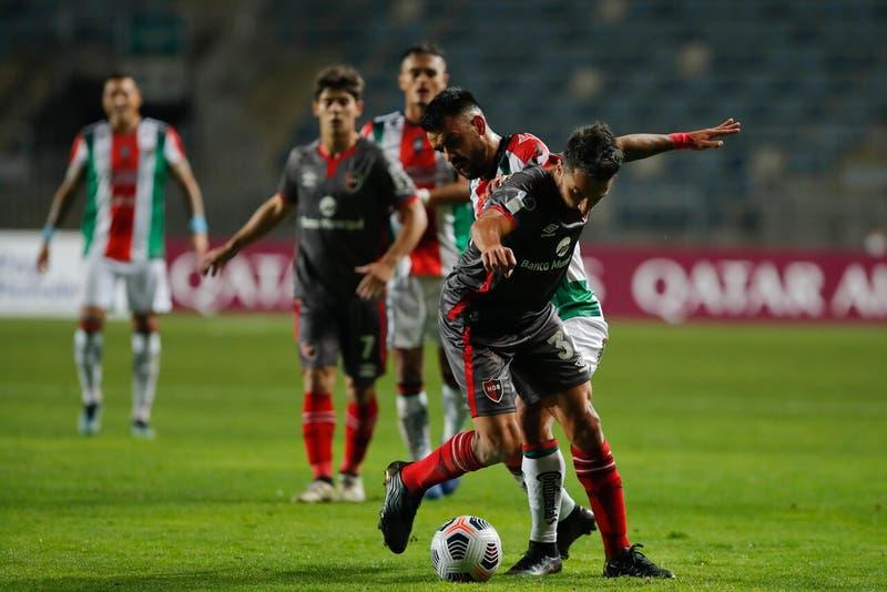 Palestino cae a última hora ante Newell's y sigue sin saber de triunfos en Copa Sudamericana