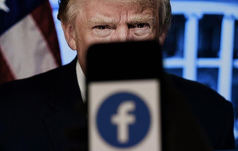 Facebook decide mantener el baneo contra Donald Trump