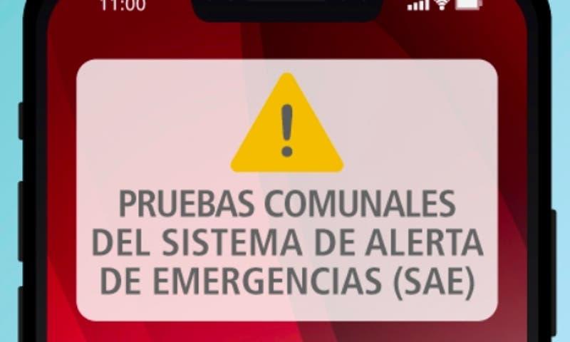 Onemi envía mensaje de prueba del sistema de Alerta de Emergencia en Coquimbo