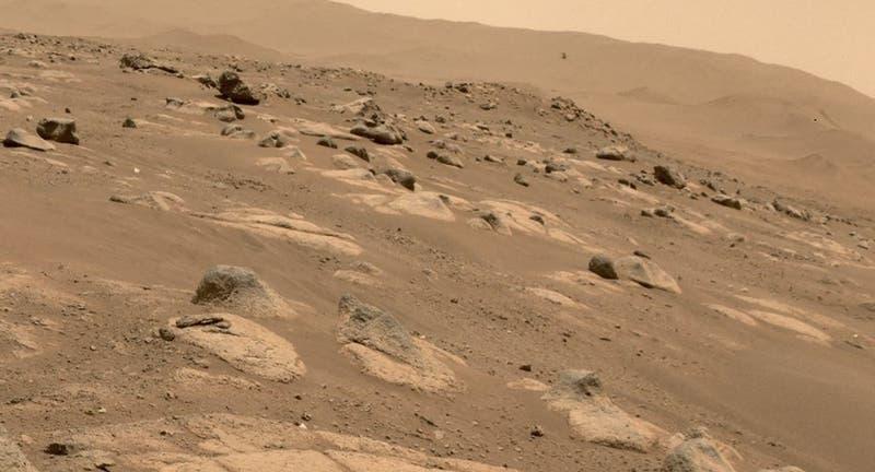 Perseverance graba el primer audio y video de Ingenuity volando sobre Marte
