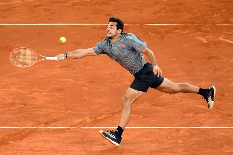 Cristian Garín cae ante Matteo Berrettini y se termina el sueño en el Masters 1000 de Madrid