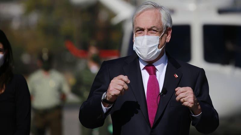"""Piñera emplaza al Congreso por agenda de seguridad: """"Apuremos esos proyectos porque son necesarios"""""""