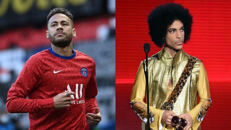 PSG homenajea a Prince con una línea de ropa y un vinilo inédito