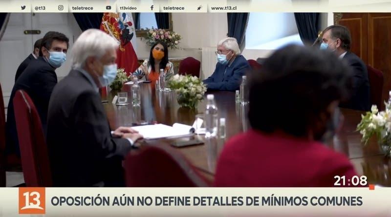 """Oposición fija lineamientos de """"mínimos comunes"""""""