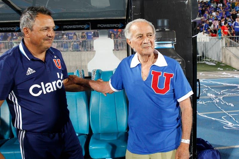 "ospitalizan al ex jugador de la Roja y la ""U"", Leonel Sánchez"
