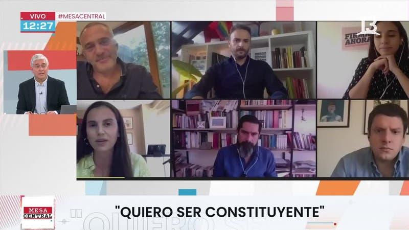 [VIDEO] Roa, Flores, Parada, Paul, Bellolio y Agosin detallan por qué quieren ser constituyentes