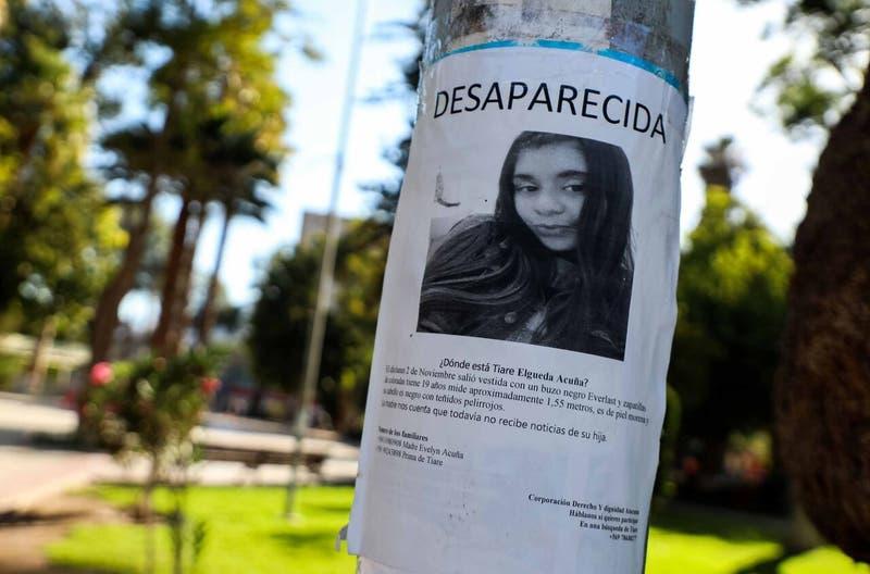 Confirman que ropa encontrada cerca de Copiapó corresponden a Thiare Elgueda