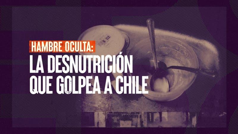 [VIDEO] Reportajes T13: Hambre oculta, la desnutrición vuelve a golpear a Chile