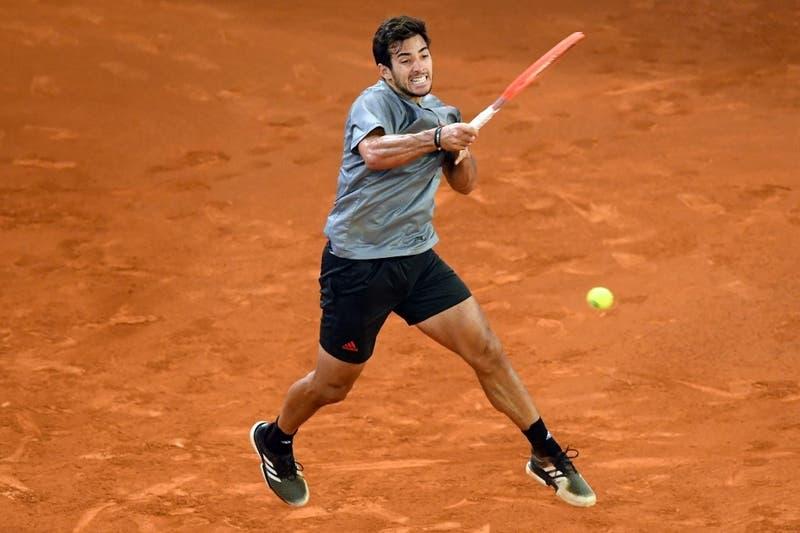Garín debuta con una victoria ante el sudafricano Lloyd Harris en el Masters 1000 de Roma