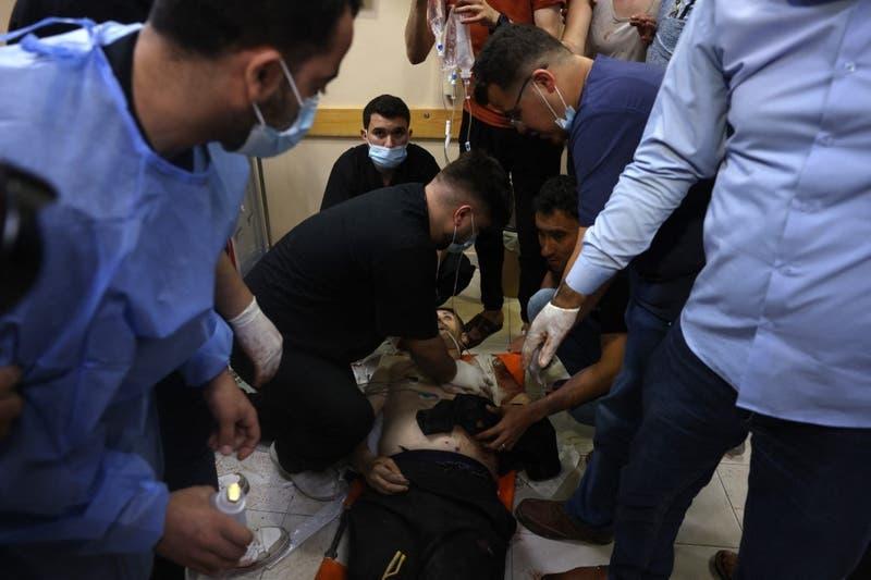 Al menos 20 palestinos muertos, incluidos nueve niños, en ataques israelíes en Gaza