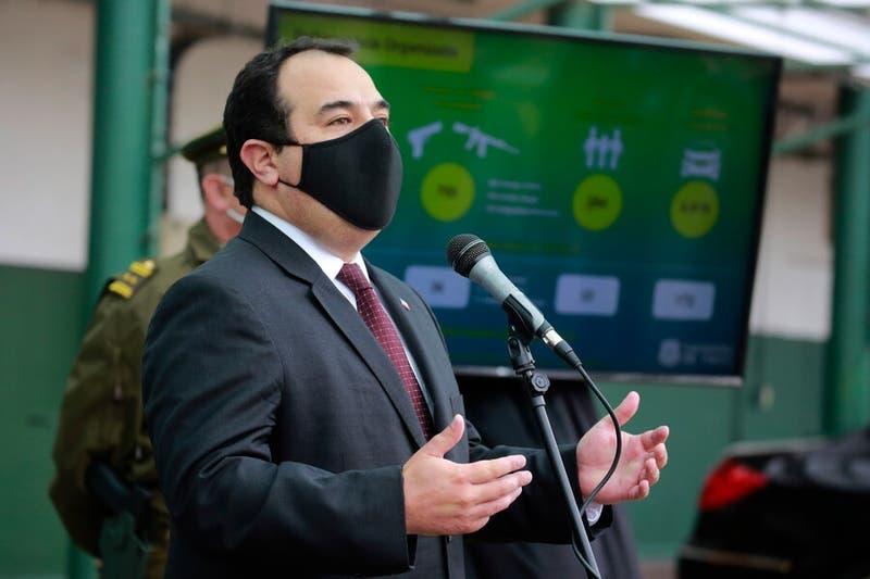 Galli dice que se evalúan mantener a las FFAA en La Araucanía más allá del Estado de Excepción