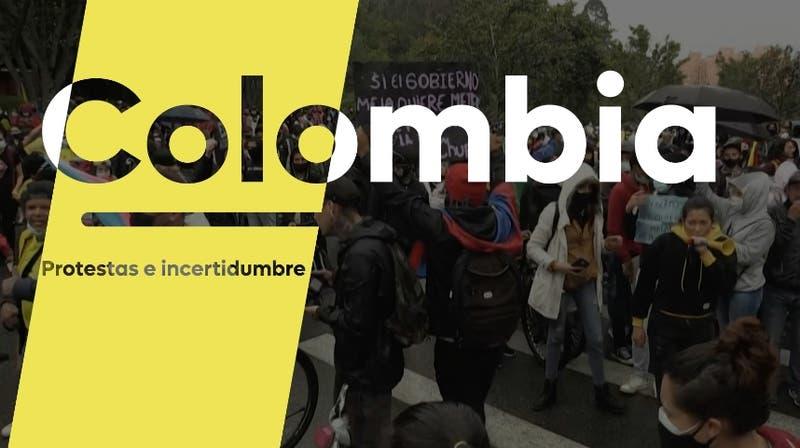[VIDEO] ¿Qué pasa en Colombia?: Protestas e incertidumbre política