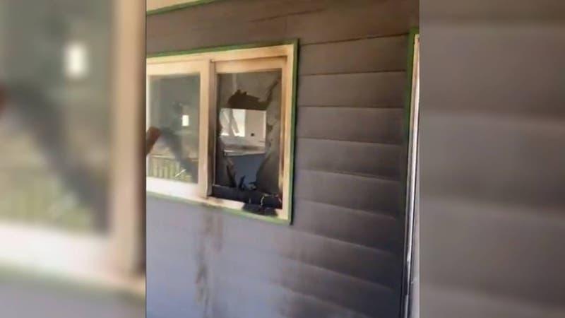 Vandalizan escuela de Lanalhue a pocos días de entrega tras reconstrucción: En 2020 fue incendiada