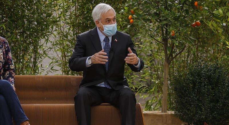 """Presidente Piñera alude a la depresión en actividad de plan SaludableMente: """"Lo viví con mi padre"""""""