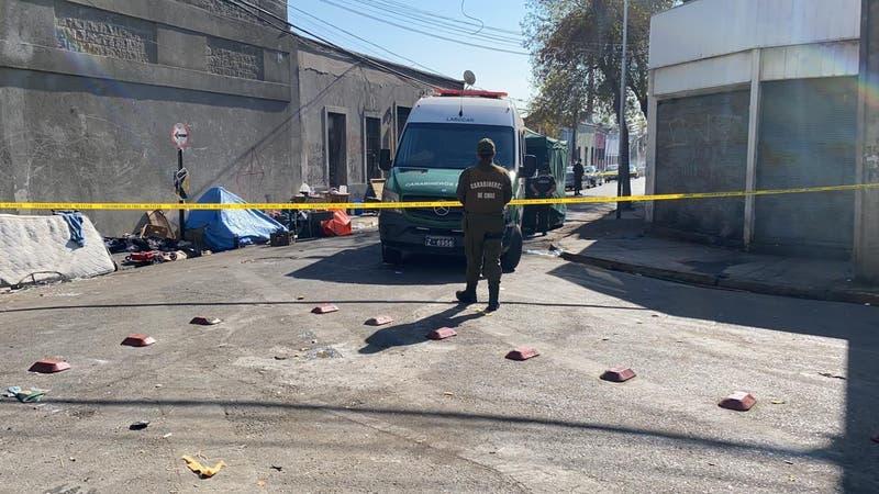 Detienen a acusado de asesinar a mujer en situación de calle en Recoleta