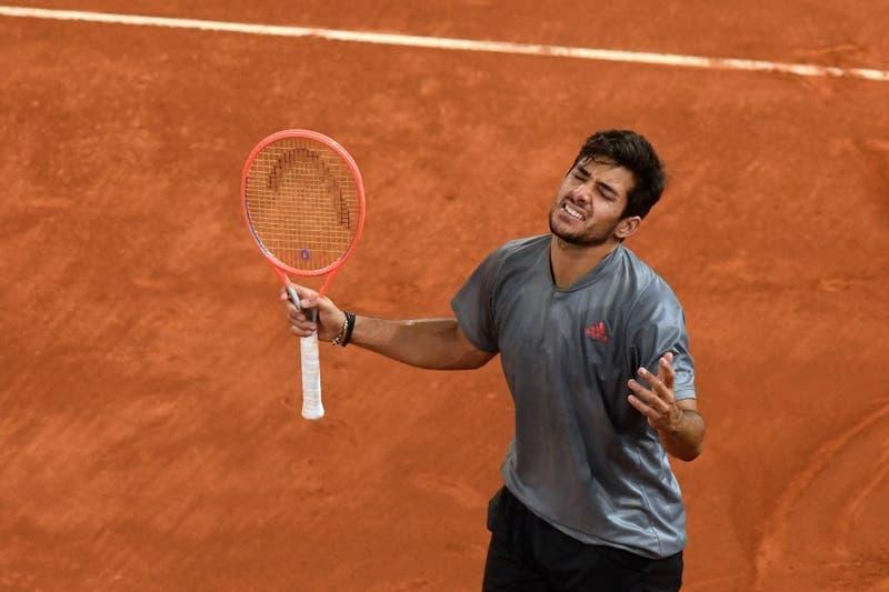 Cristián Garín queda fuera del Masters 100 de Roma tras perder contra Roberto Bautista