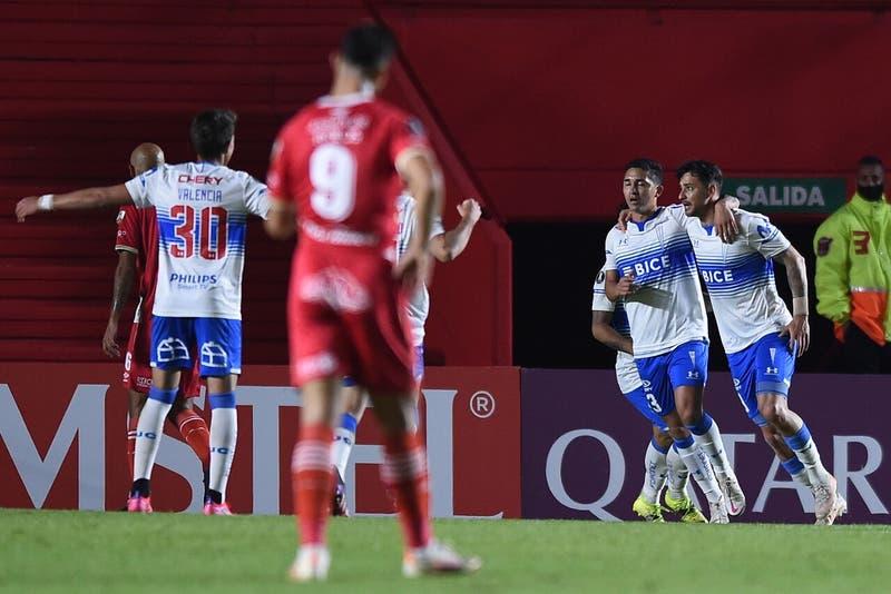 Revive el gol de Zampedri que le dio el triunfo a la UC sobre Argentinos Juniors en la Libertadores