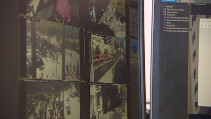 Nueva tecnología en Santiago: Persecución de delitos con evidencia en tiempo real