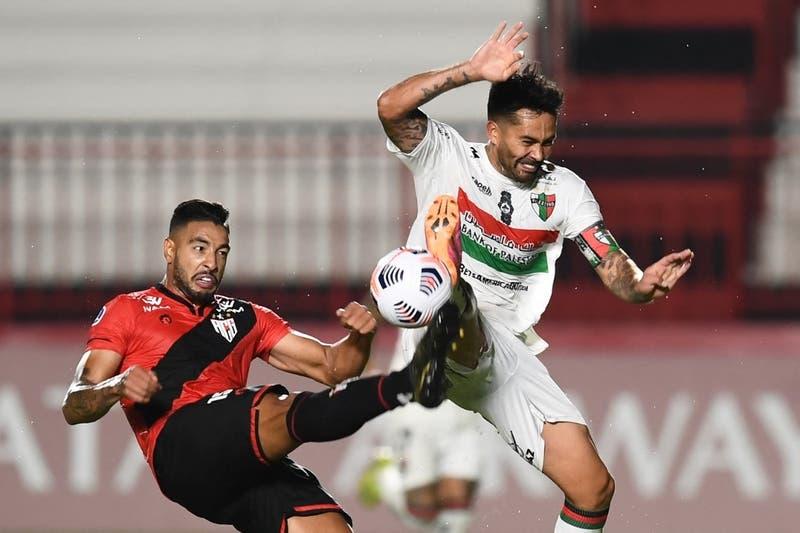Palestino eliminado de la Copa Sudamericana tras empatar en Brasil con Atlético Goianiense