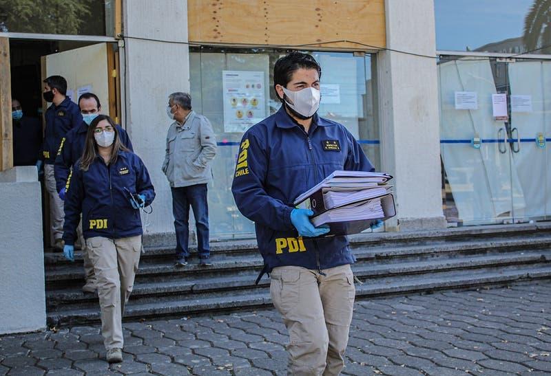 PDI recibe documentación de Municipalidad de San Ramón en medio de investigación por corrupción